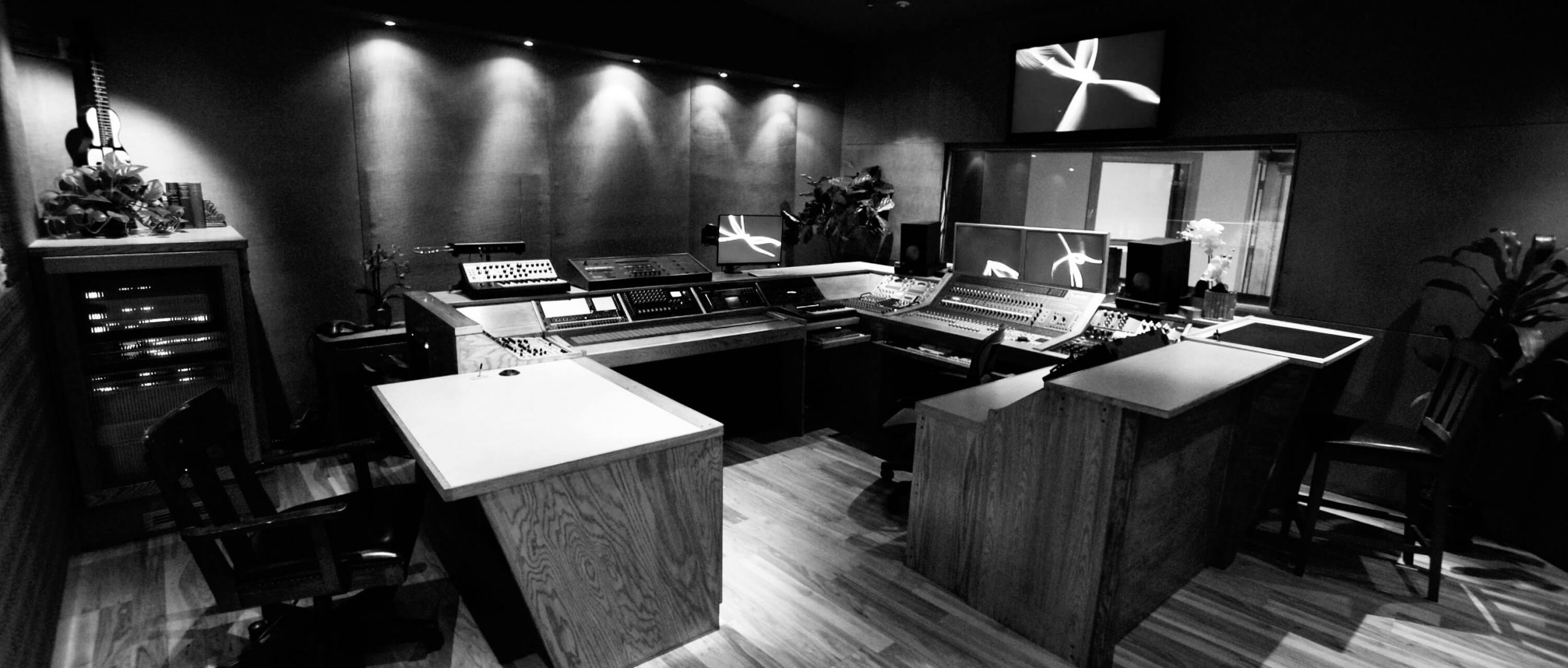 Kemper Room image in black and white